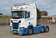 SCANIA R HIGHLINE | CR20H 6X2 TWINSTEER Klaus Michaelsen (арт. 01-2454)