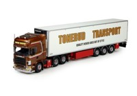 Scania 4-serie Topline with reefer semitrailer Tonerud (арт. 71954)