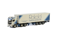 VOLVO F12 6X2 TWIN STEER REEFER TRAILER - 3 AXLE ROKOLD (арт. 01-2522)