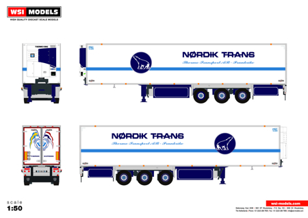 REEFER TRAILER - 3 AXLE Nordik Line (арт. 01-2674)