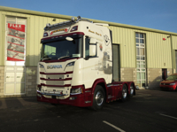 SCANIA R HIGHLINE | CR20H 6x2 TAG AXLE Geary Livestock (арт. 01-2668)