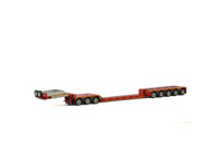 LOWLOADER 5 AXLE + DOLLY 3 AXLE KNT Red Line (арт. 5645914)