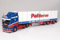 Scania R-serie Highline 4x2 tractor with semi-reefer trailer.   Wouters, Peter  (арт.  61537)