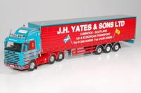 Scania 3-serie Streamline 6x2 with curtainside semitrailer.   Yates   (арт.  59950)