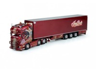 Scania R-serie Streamline with reefer semitrailer Bode, Jens (арт. 70945)