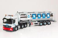 Mercedes Actros with tank semitrailer.  Reym   (арт.  60199)