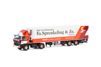 DAF 3300 4x2 REEFER TRAILER - 3 AXLE Fa. Sprenkeling & Zn (арт. 01-2606)