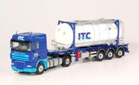 DAF 105 XF Space Cab 4x2 truck with tankcontainer.  ITC   (арт.  59535)