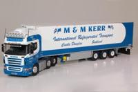 Scania R-serie Topline 6x2 with reefer semitrailer.  Kerr, M&M   (арт.  60587)